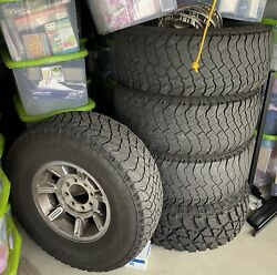 Hummer H2 Wheels And 35 Tires Including Unused Spare.