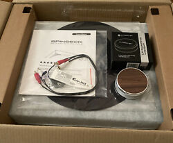 Andover Audio Spindeck Turntable W/ Ortofon Om Cartridge Black + Record Weight