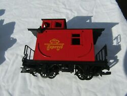 G Scale Trains Lehman Lgb Auto Express Red Caboose Free Shipping