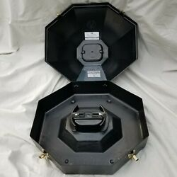 Cowboy Hat Can Mandf Western Products Black Plastic Travel Box With Mirror Used