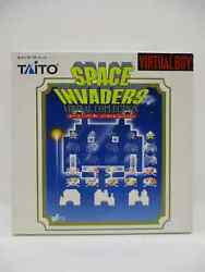 Virtual Boy Space Invaders Virtual Collection Taito Japanese Used Free Shipping