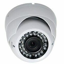 Wired Indoor/outdoor Night Vision Vandal Proof Dome Standard Surveillance Cam...