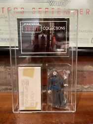 Vintage Star Wars Emperor Mail Away Complete Sealed Baggie W Catalog And Acrylic