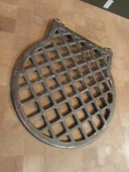 Cast Iron Pot Belly Stove Or Round Oak Style Or Cooking Fire Grate 1927 Numbered