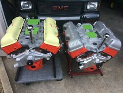 Two Chevrolet 409 Engines Chevy