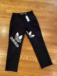 Adidas Dry Clean Only Bangkok Suit Pants Women's Black And White New With Tags S