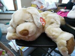 Ty plush beanie baby Classic Ripples the large dog beanie 19quot; HTF