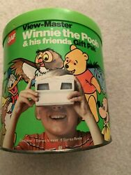 Gaf View-master Winnie The Pooh And His Friends Gift Pak And 8 Reels Stock 2364