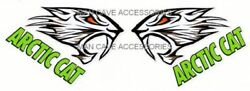 Pair Arctic Cat Vinyl Decal Stickers Left And Right 4438 And 4439