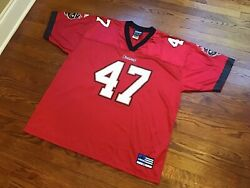 Authentic Vintage Nfl Adidas Tampa Bay Buccaneers John Lynch Jersey 47