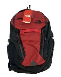 The Surge Backpack Rage Red Ripstop 15 Laptop Book Bag Day Pack New