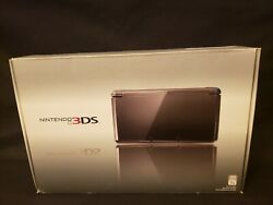 Nintendo 3ds Xl Spr-001 Handheld Video Game Console/ System Tested No Cradle