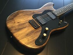 Custom Mustang / 25.5 Scale / Black Limba Body And Neck / Revel - Wee Range Hbs