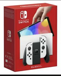 Nintendo Switch Oled Model Heg-001 Handheld Console - 64gb - White Confirmed