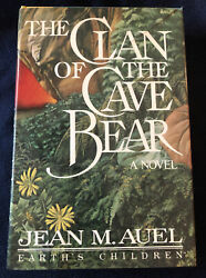 The Clan Of The Cave Bear By Jean M. Auel/1st Ed./signed/hcdj/fiction/adventure