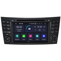 Android 10 Car Dvd Cd Gps Radio Stereo For Mercedes Benz E Class W211 Cls W219