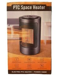 Ptc Space Heater Electric Portable Ceramic 3s Quick Heating Fan 1500w Gd9215ad9