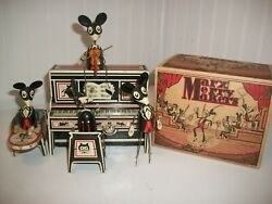 Marx Merry Makers Band Tin Windup With Box