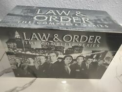 Law And Order The Complete Series Seasons 1-20 Dvd Delux Box Set104-disc Usa