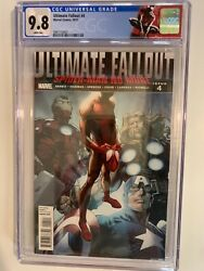 Ultimate Fallout 4 Cgc 9.8 White Pages-1st Print1st Morales New Case🔥