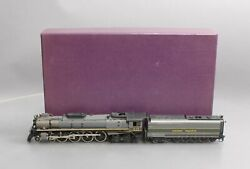 Key Imports Ho Brass Up Fef-2 Two Tone 4-8-4 Northern Steam Loco/tender Ex/box