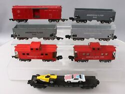 American Flyer Vintage S Assorted Freight Car Lot 638, 640, 938, 633, 24562 [7]