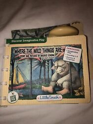 Leap Frog Little Touch Library Where The Wild Things Are Maurice Sendak Toddler