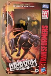 Transformers War For Cybertron Wfc Kingdom Deluxe Black Panther Action Figure