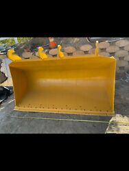 """96"""" Jrb Quick Coupler Bucket For Wheel Loader. Great Condition"""