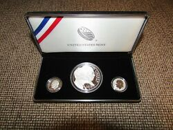 2015 March Of Dimes Special 3 Coin Silver Set With Reverse Proof Dime