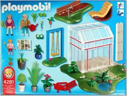 Playmobil Green House/garden Great Condition Complete Set