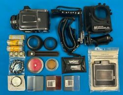 Hasselblad 503cx Camera W/ Film Back And Carl Zeiss Planer 80mm Lens And Extras