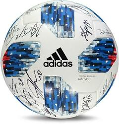 Montreal Impact Signed Mu Soccer Ball From The 2018 Mls Season And 24 Signatures
