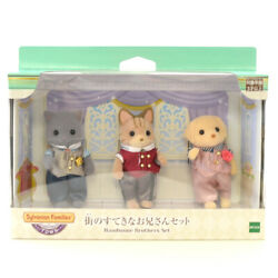 Sylvanian Families Older Handsome Brothers Set Calico Critters