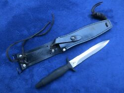 Vintage Original Gerber Mk2 Knife And Sheath Made In 1983 Excellent Condition
