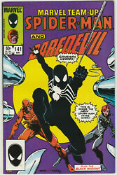 MARVEL TEAM UP SPIDER MAN AND DAREDEVIL ISSUE #141 FIRST BLACK SUIT