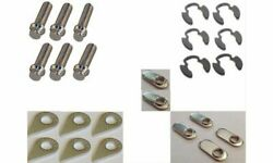 Stage 8 Collector Bolts Hex Head Locking Steel Nickel Plated 3/8-16