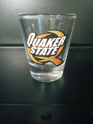 Quaker State Collectible Advertisement Shot Glass