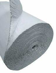 6ft White Double Bubble Reflective Foil Thermal Insulation 1200sqft 6ftx200ft