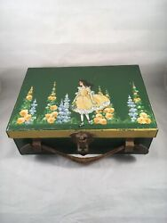 Antique Early Child's Luch Box By Thermos