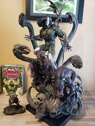 Xm The Darkness Statue Witchblade Spawn Sideshow