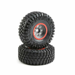 Losi 45029 Superrock Rey Silver Mounted Maxxis Creepy Crawler Lt Pack Of 2