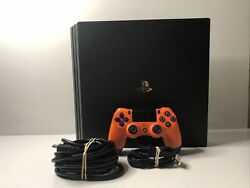 Playstation 4 Pro Ps4 1tb W/ All Cords And Controller