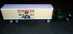 Mib Vintage Kuebler Beer And Ale High Quality Diecast Brewery Semi Truck