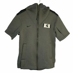 Nike Men's Ncaa Michigan State Spartans On-field College Showout Jacket Small