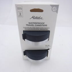 Pack Of 2 Matador Waterproof Travel Canisters 100ml