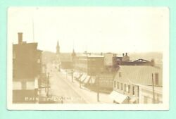 Calais Maine Main Street Stores St Croix Clothing Lyford And Co 1922 Real Photo