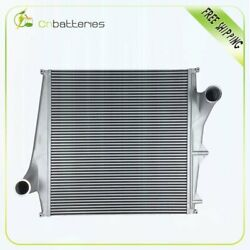 Replacement Aluminum Truck Charge Air Cooler For 98-03 Volvo Vn Series Brand New