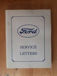 Very Rare Original Book Ford Service Letters 1927-1931 Jerry Wilhelm 1977
