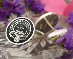 Cameron Scottish Clan Sterling 925 Silver Cufflinks - Hand Made In The Uk